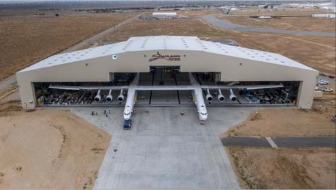 Mojave Air and Space Port hangar