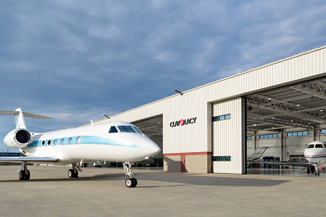 Oxford Hangar - CLA Logo