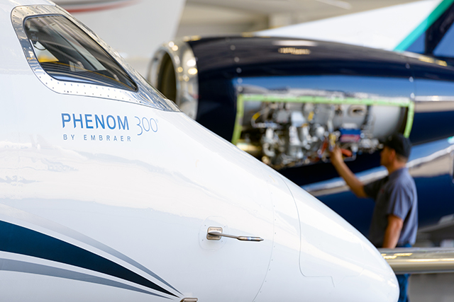 Business jet maintenance for safe and healthy business jet charter.