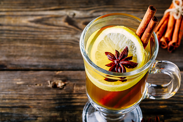 fall-inspired recipe for a hot toddy when youre sick