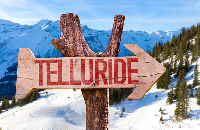 telluride is a three-hour-charter flight from seattle