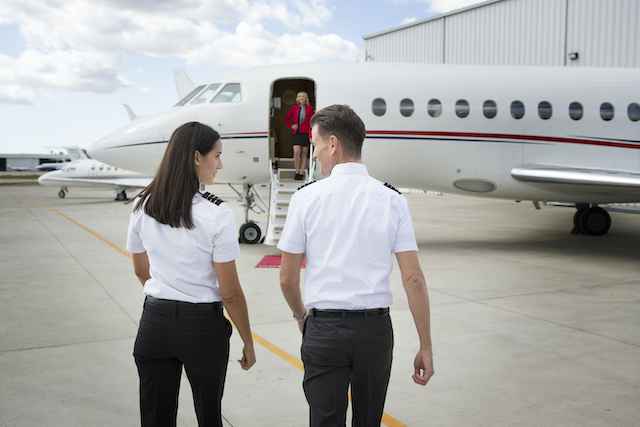 happier crews and well maintained aircraft lead to increases in charter revenue