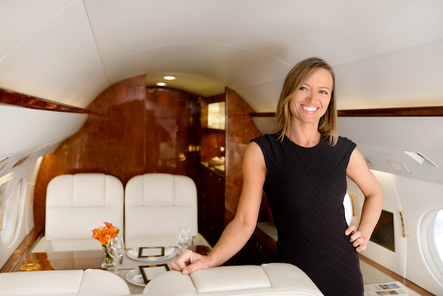 Cabin attendants are trained in corporate etiquette, food preparation and onboard safety.