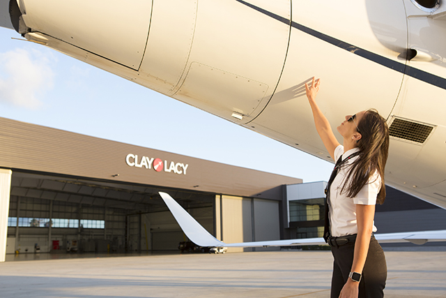 Your private jet crew is dedicated to you and your aircraft at Clay Lacy Aviation.